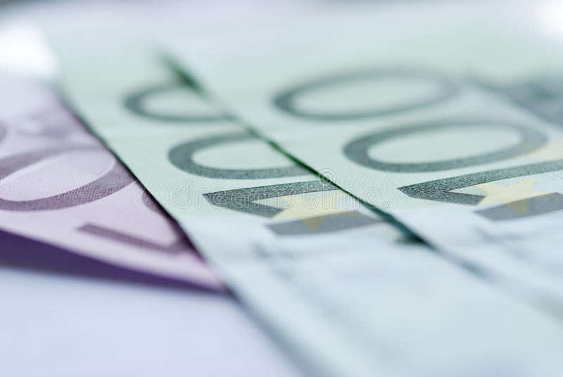 Download Close Up Of Euro Bills Royalty Free Stock Photos - Image: 16300638