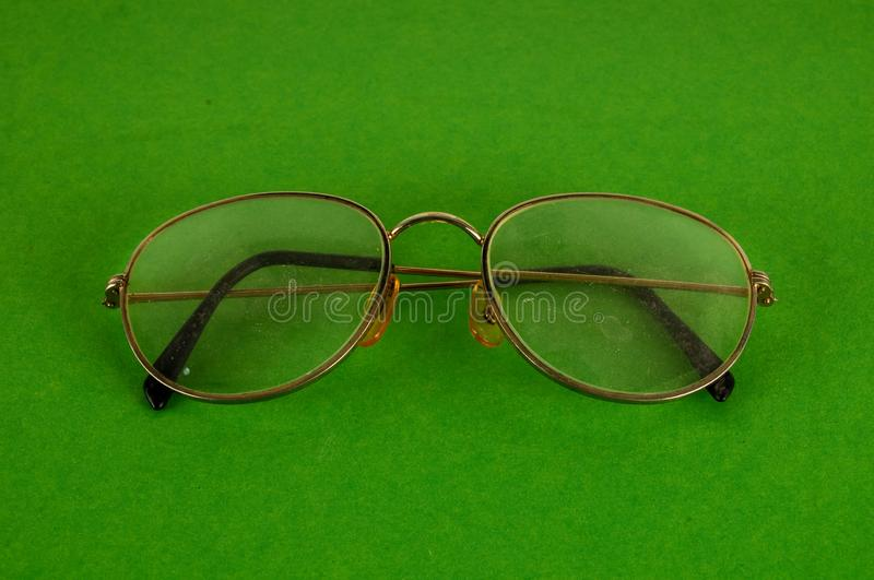Close-up of eyeglasses stock image. Image of studio ...