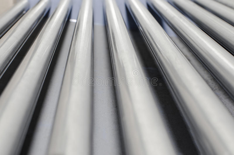 Close up Factory Conveyor Belt royalty free stock images