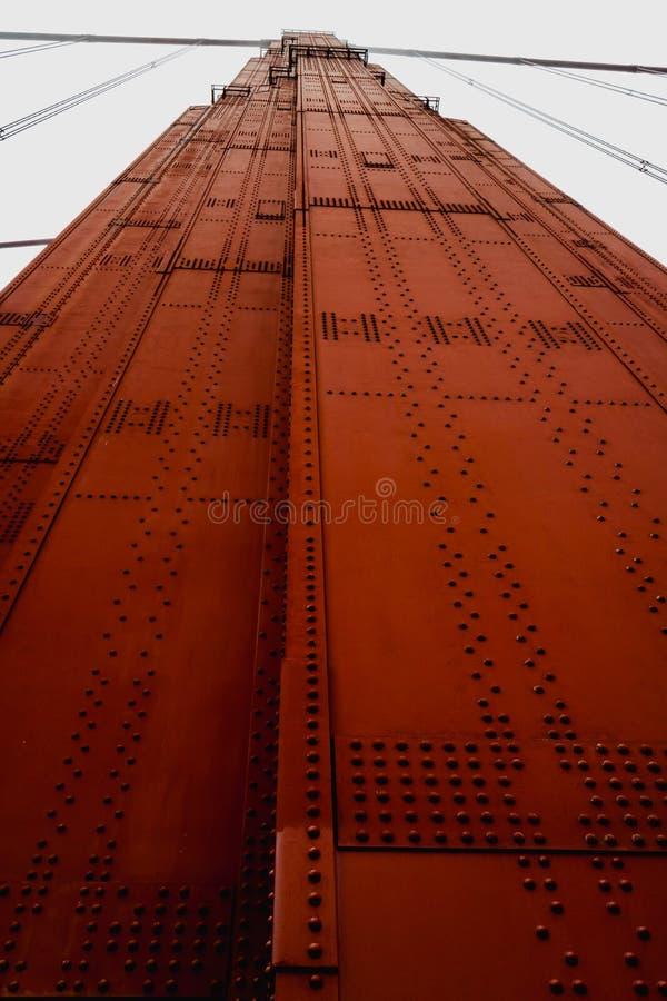 Golden Gate Bridge details royalty free stock photography