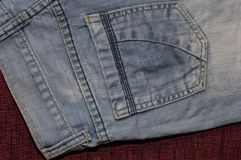 Close up of fashion jeans, selected focus. Picture Close up of fashion jeans, selected focus royalty free stock photo