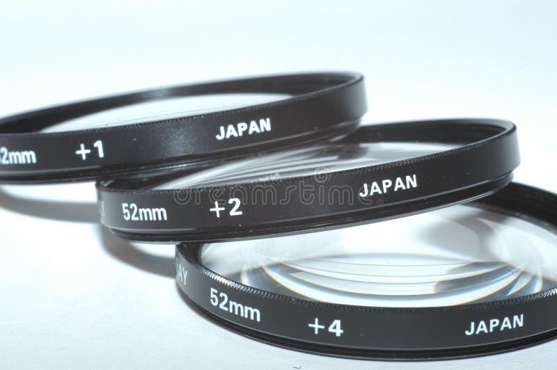 Close-up filter set royalty free stock photography