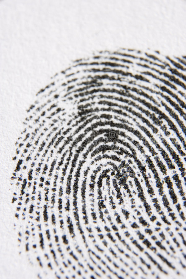 Download Close-Up Of Finger Print stock image. Image of life, colour - 7742967