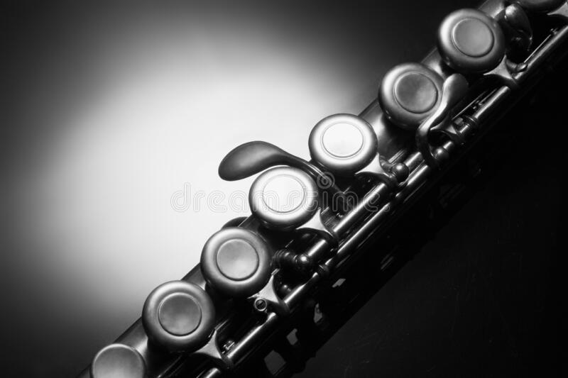 Close-up of Flute royalty free stock image