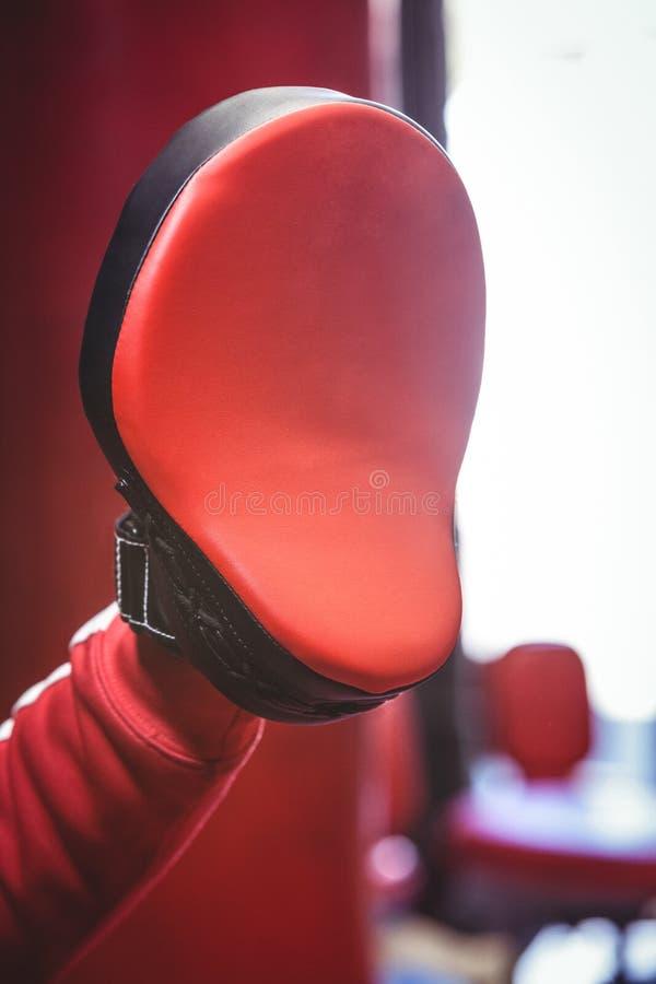 Close-up of a focus mitt stock images
