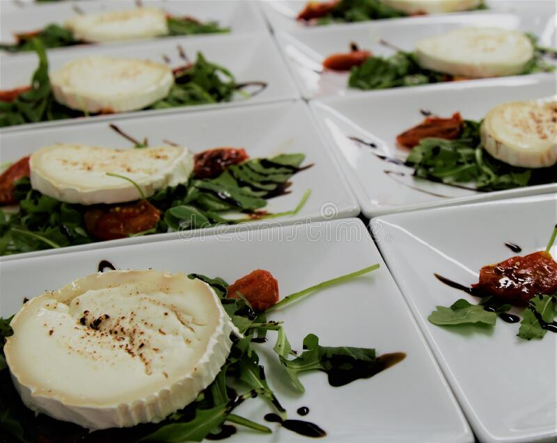 Close-up of Food on Plate stock photo