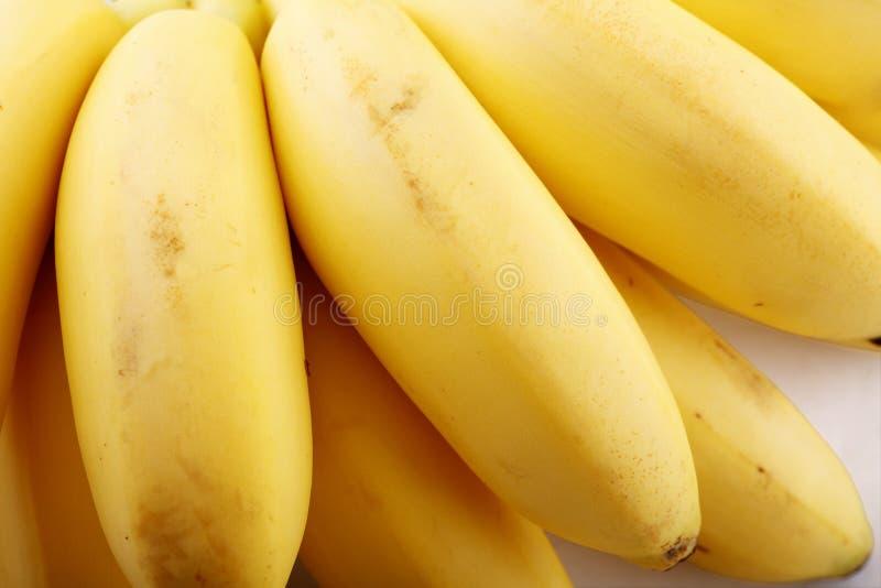 Close-up fresco da banana fotos de stock