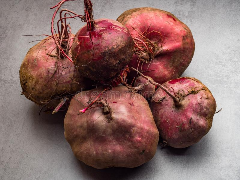 Close up of fresh harvest of beets, beet background, organic anti cancer food, rich in iron. Fresh harvest of beets, beet background, organic anti cancer food stock photography