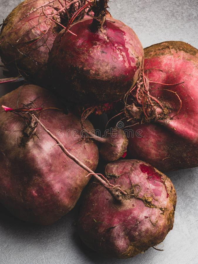 Close up of fresh harvest of beets, beet background, organic anti cancer food, rich in iron. Fresh harvest of beets, beet background, organic anti cancer food stock images