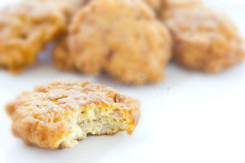 Close up fried chicken. royalty free stock image