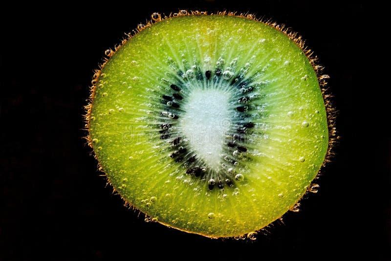 Close-up of Fruit Against Black Background stock image