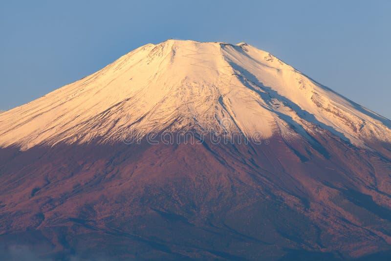 Close up Fuji mountain stock photography