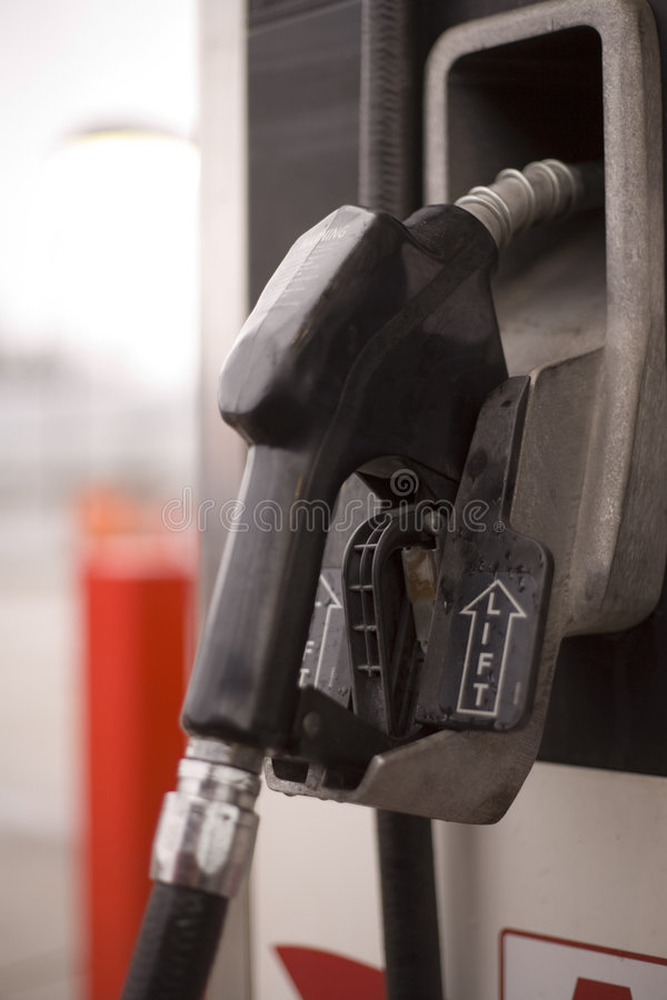 Close up of gas pump royalty free stock image