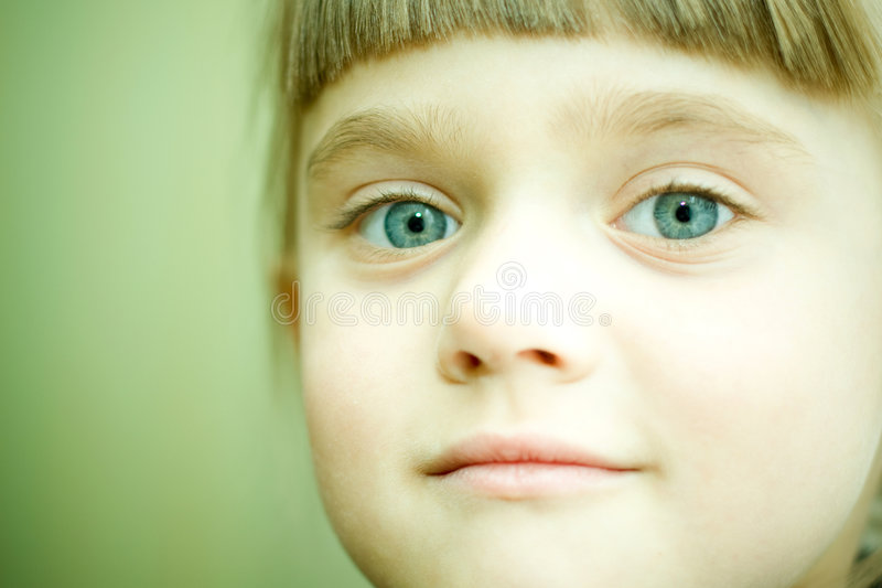 Close-up girl portrait royalty free stock images