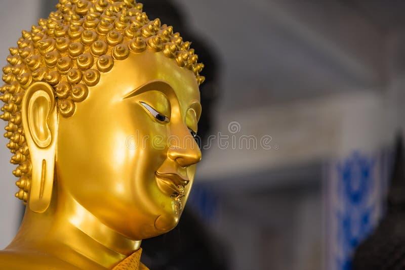 1 BRASS  BUDDHA STATUE ~ 4 FACE  ~ SERPENT ~ RECLINING