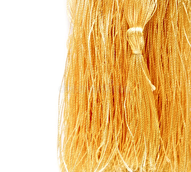 Free Close-up Golden Tassel Royalty Free Stock Photos - 34690588