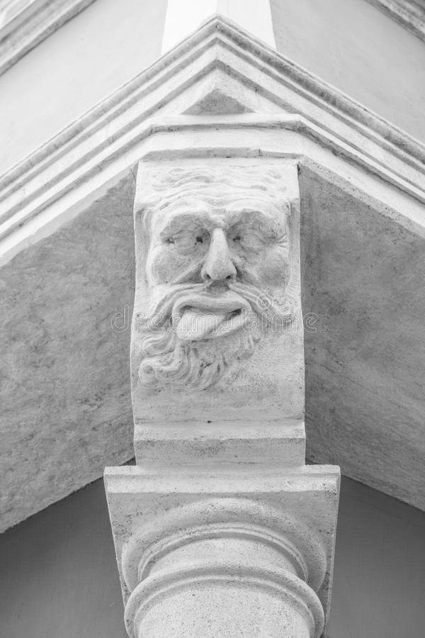 Close-up Graz ancient architecture in Austria.  royalty free stock image