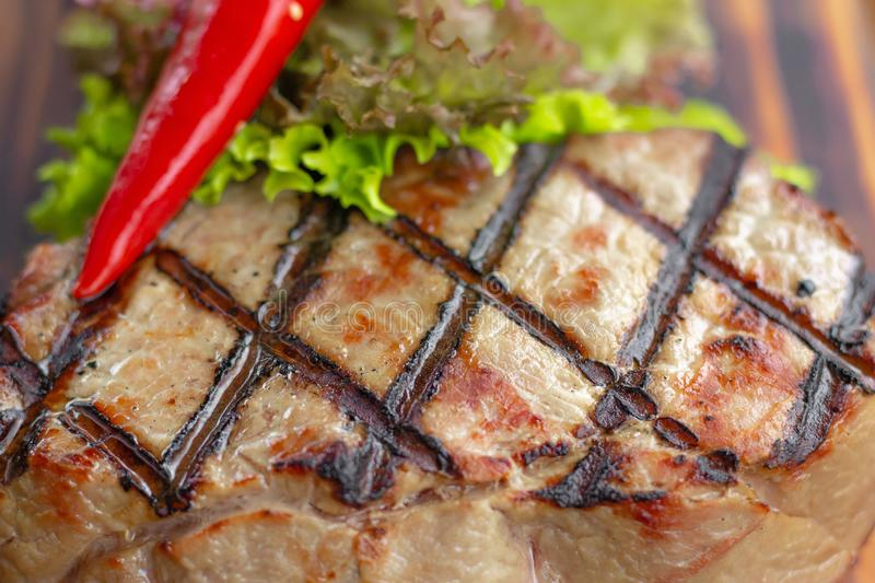 Red Meat On Bbq Stock Photo Image Of Fresh Electric