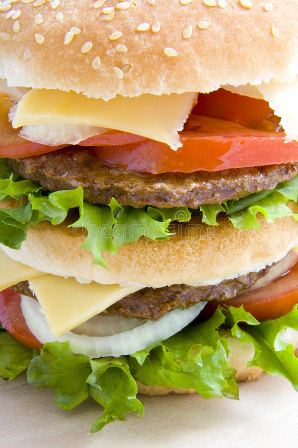Download Close up hamburger stock image. Image of fastfood, cuisine - 14799025
