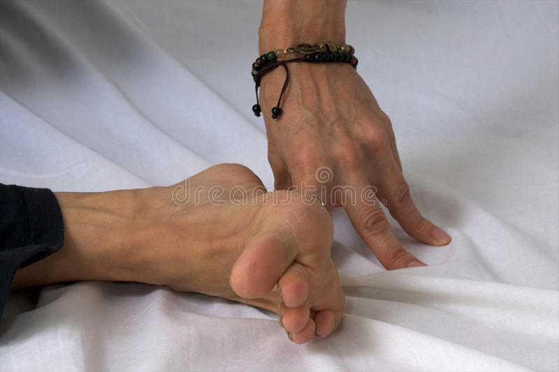 Download Close up of hand and foot stock image. Image of foot - 26780207
