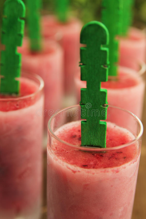 Handmade Popsicle Royalty Free Stock Images