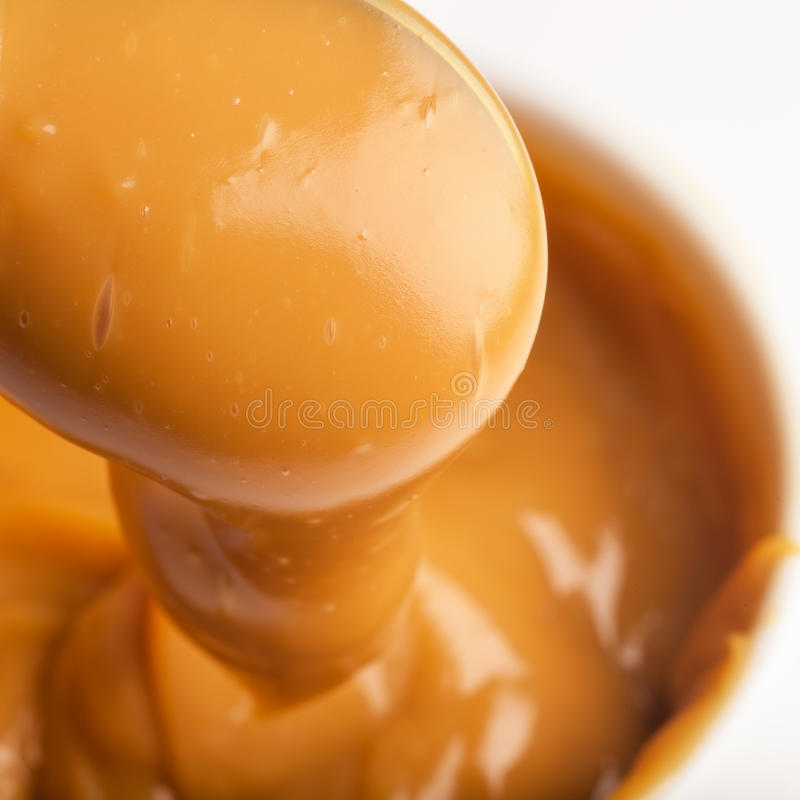 Close-up of a handmade toffee royalty free stock photography