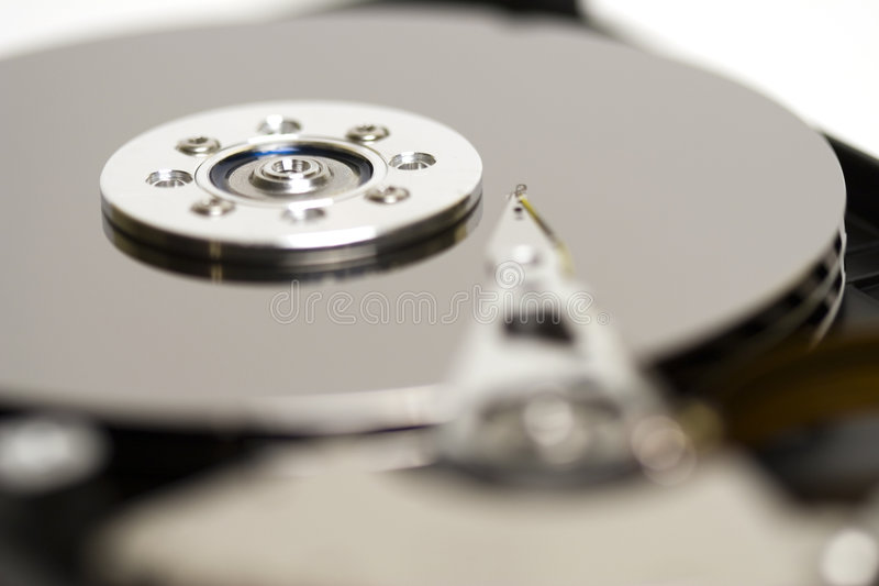 Close-up HDD royalty-vrije stock fotografie