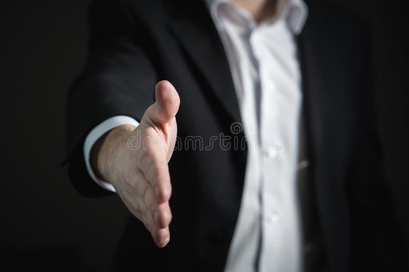 Close-up of Human Hand stock photos