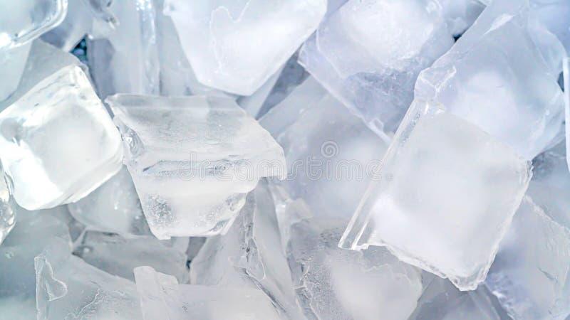 Close up ice cube background stock photos