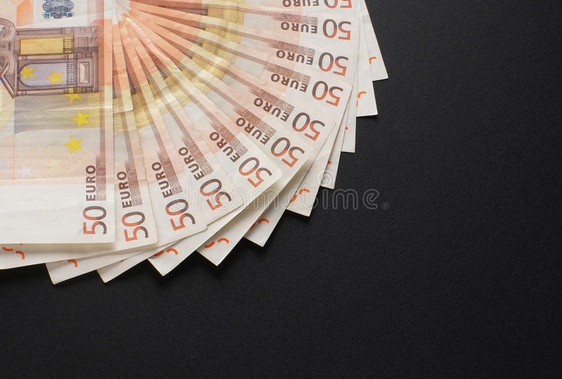 Download A Close-up Image Of 50 Euro Money Bank Notes Stock Image - Image: 28964349