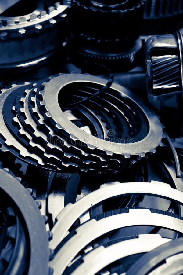 Automobile gear assembly stock images