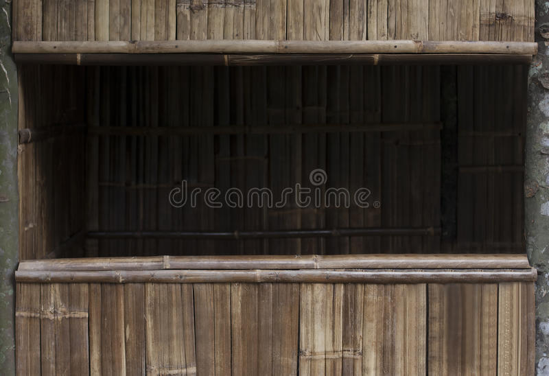 Wooden/Bamboo Frame royalty free stock photography