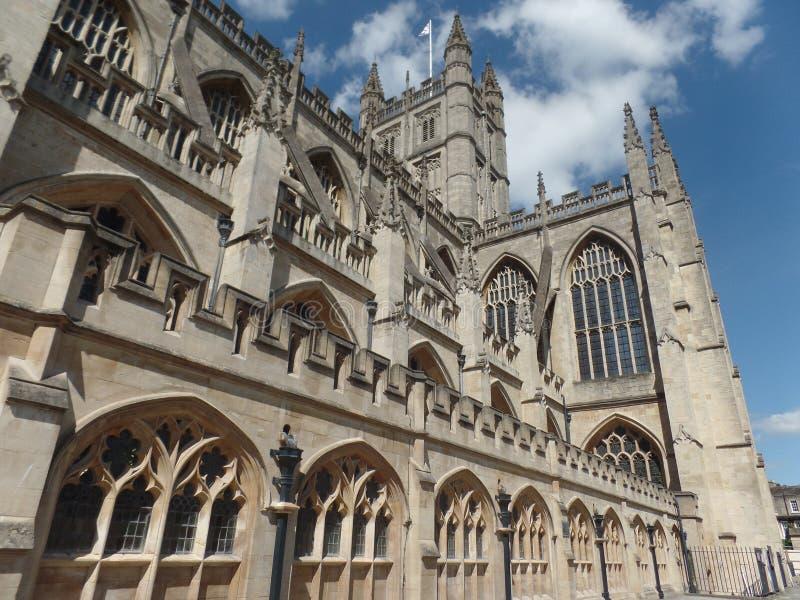 Close up image of Bath Abbey royalty free stock image