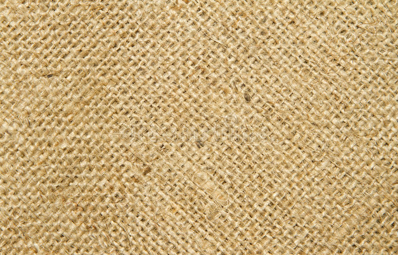 Close up image of hessian stock images