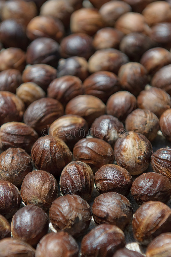 Download Close up image of nutmeg stock image. Image of fragrant - 7454659