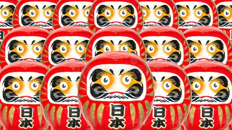 Close up Japanese Daruma Doll royalty free stock photos