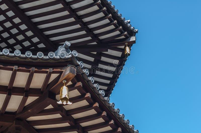 Download Close-Up Japanese Pagoda stock photo. Image of japanese - 33406830