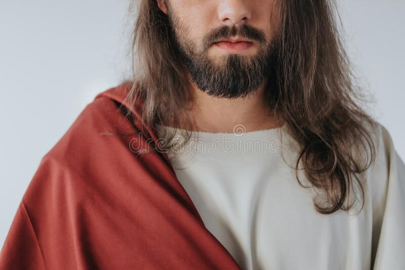 Close-up of Jesus royalty free stock images