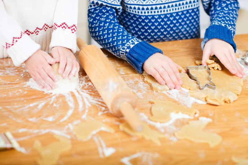 Download Close Up Of Kids Baking Stock Image - Image: 22405031