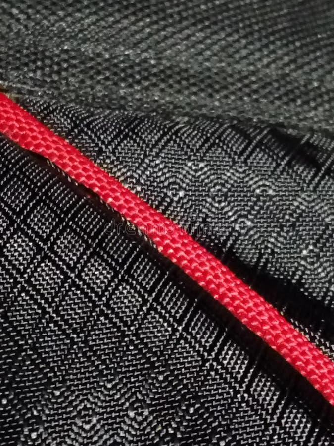 Close-up of laptop bag stock image