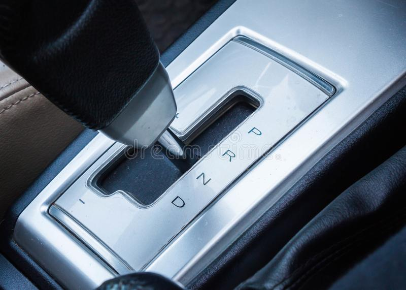 Letter Symbol Of Gear Shift In Auto Car Stock Photo Image Of