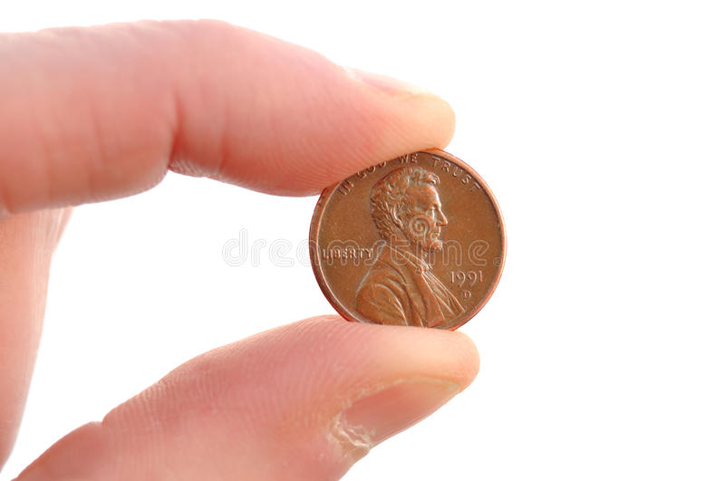 Close-up of Lincoln Penny stock photos
