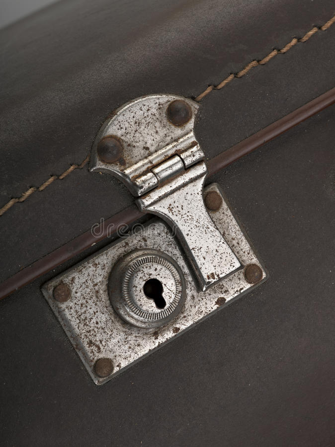 Close-up Of Lock Royalty Free Stock Photo