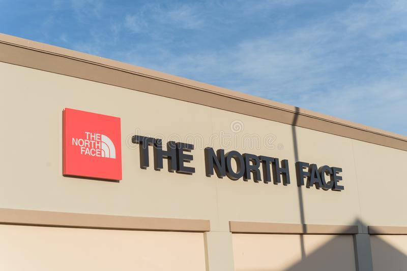 The North Face Fashion Store Editorial Photography - Image