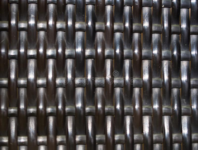 Bamboo chair texture pattern geometric shape close up royalty free stock images