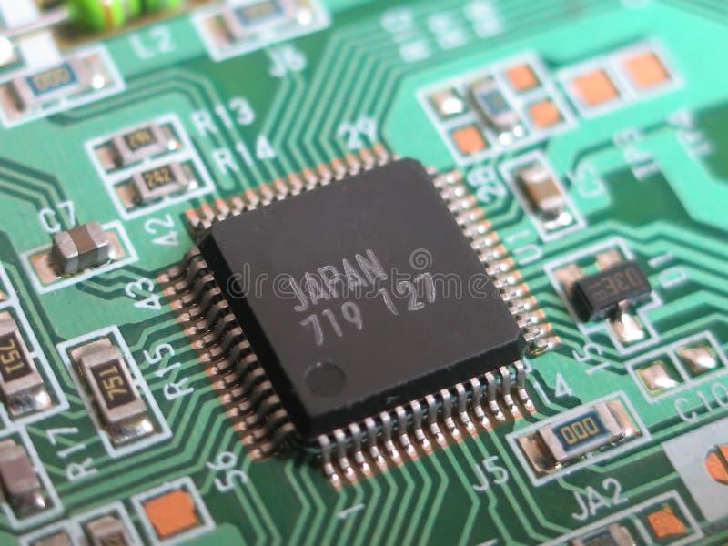 Download Close Up Macro Of Small Circuit Board Stock Image - Image: 17371163