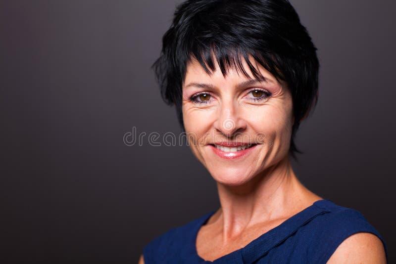 Close up maduro da mulher fotos de stock royalty free