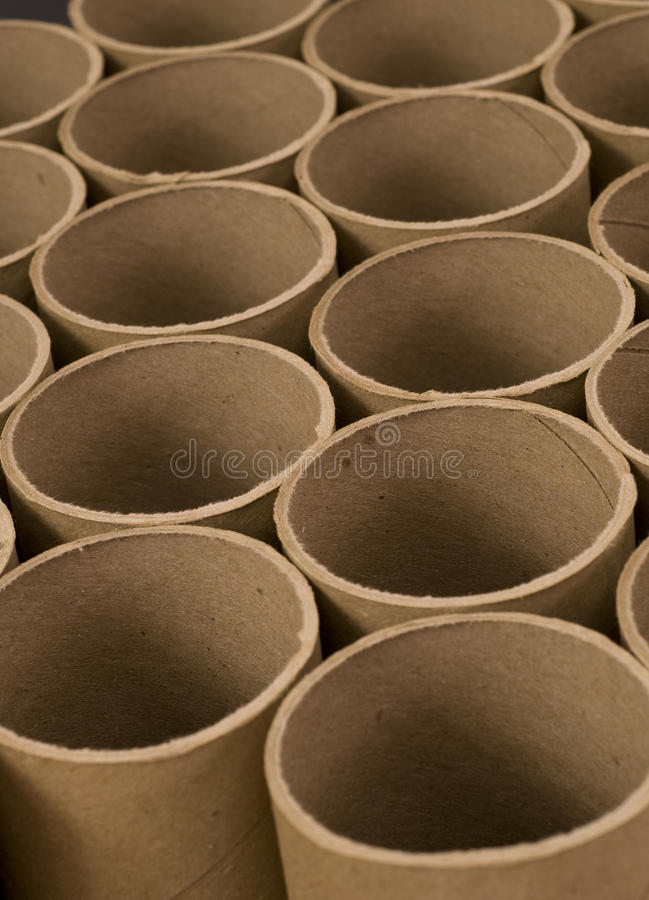 Download Close up of Mailing Tubes stock image. Image of brown - 17773049