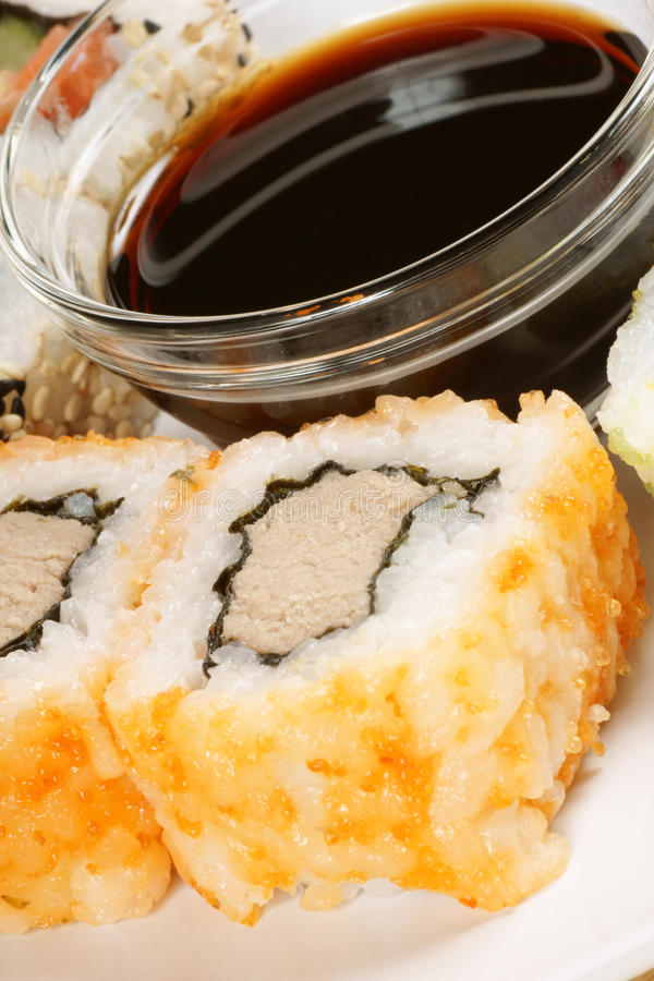 Download Close-up Of Maki Sushi Rolls Stock Photo - Image: 14667460