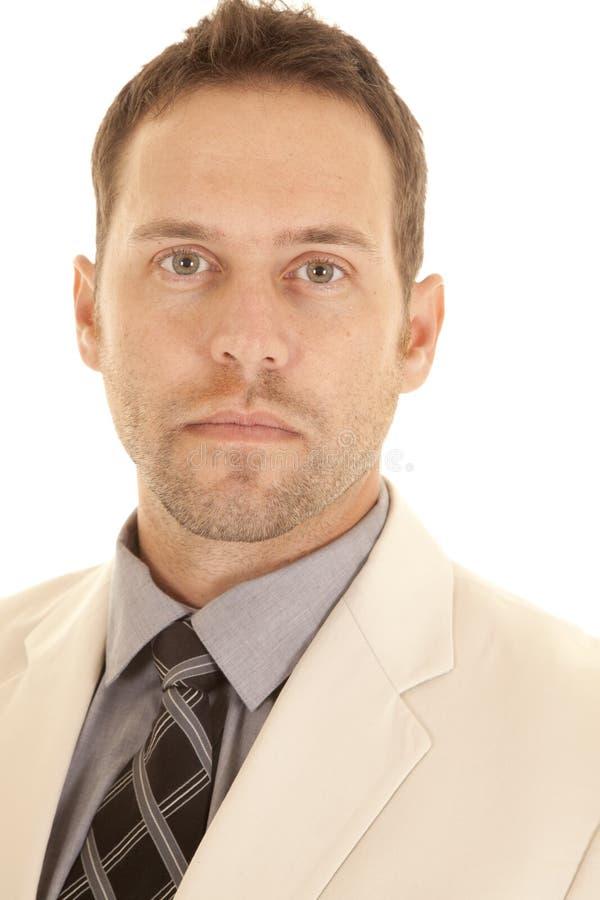 Close up man face stock photography